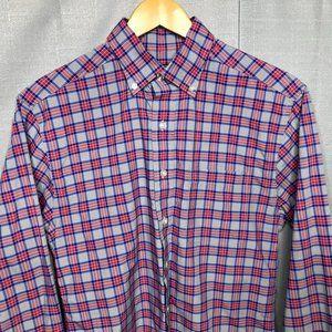 Vineyard Vines Grey Plaid Classic Fit Murray Shirt